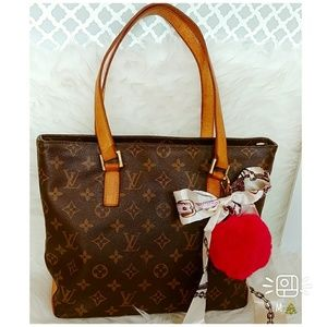🎄authentic Louis Vuitton handbag  Cabas piano